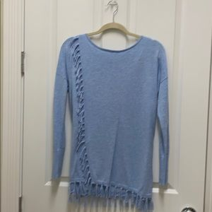 Lily Pulitzer powder blue sweater